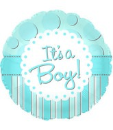 "18"" It&#39s A Boy Foil Balloon"