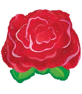 "11"" Airfill Only Red Rose Balloon"