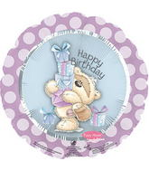 "17"" Fizzy Moon Happy Birthday Day Gifts Balloon"