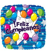 17'' Feliz Cumpleanos Packaged
