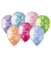 "12"" Pastel Assorted ""You&#39re So Special""     Latex 50&#39s"