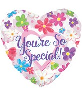 "24"" You&#39re So Special Flowers Balloon"