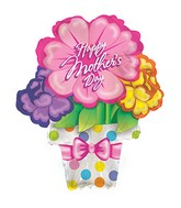 "21"" Happy Mother&#39s Day Flower Pot Balloon"