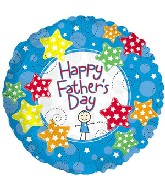 "18"" Father&#39s Day Stickboy Balloon"