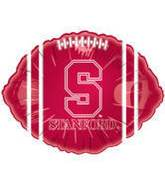 "18"" Collegiate Football Stanford University - Cardinal"