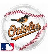 "18"" MLB Baltimore Orioles Mylar Balloon"