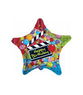 "18"" Happy Birthday The Movie Balloon"