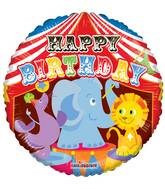 "18"" Birthday Circus Balloon"