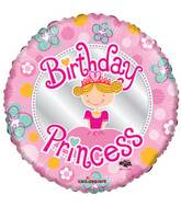 "18"" Birthday Princess Balloon"