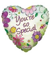 "18"" You&#39re So Special Flowers Balloon"