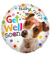 "18"" Get Well Dog Balloon"