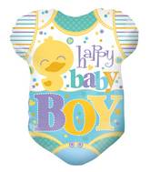 "18"" Baby Clothes Boy Shape Balloon"