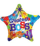 "18"" Greatest Boss Star Balloon"