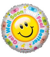 "18"" Get Well, Hurry And Get Better Balloon"