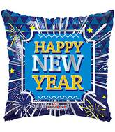 "18"" New Year Square Balloon"