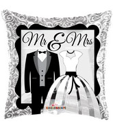 "18"" Mr & Mrs Balloon"