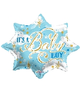 "18"" Shape It&#39s A Baby Boy Shape Balloon"