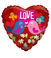 "18"" Love Birds Balloon"