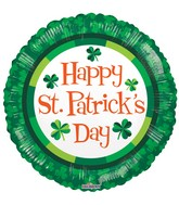 "18"" St Patrick&#39s Green Balloon"