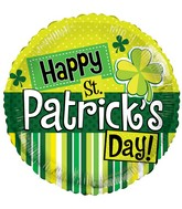 "18"" St Patrick's Elements Balloon"