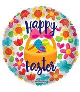 "18"" Happy Easter Basket Balloon"