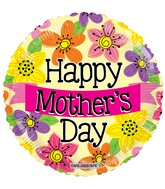 "18"" Happy Mother&#39s Day Banner Balloon"