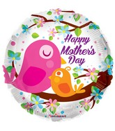 "18"" Mother&#39s Day Birds Balloon"