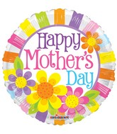 "18"" Happy Mother&#39s Day Daisies Balloon"
