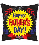 "18"" Happy Father&#39s Day Medal Balloon"