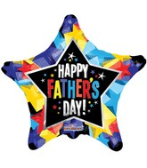 "18"" Father&#39s Day Shinny Stars Balloon"