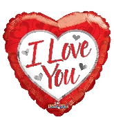 "36"" Red Heart I Love You Balloon"