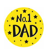 "18"" No. 1 Dad Balloon"