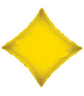 "21"" Solid Diamond Yellow Opaque"