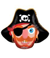 "14"" Airfill Only Pirate Mini Shape Balloon"