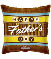 "18"" Happy Father&#39s Day Traditional Father Balloon"