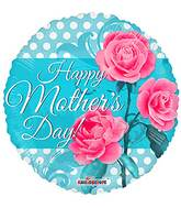 "18"" Happy Mother&#39s Day 3 Roses Balloon"