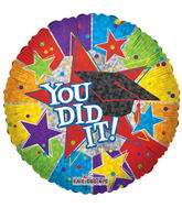 "18"" You Did It! With Cap"