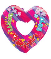 "9"" Aifill Only Happy Valentine&#39s Day Colorful Shape"