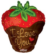 "18"" I Love You Strawberry"