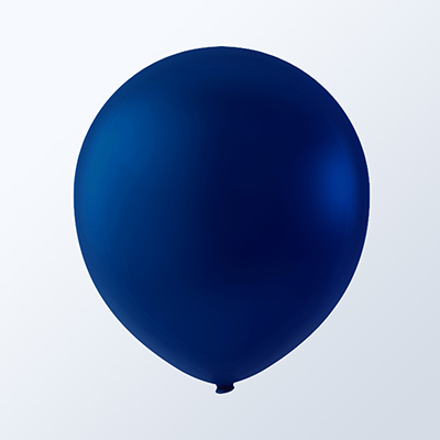 "5"" Latex Balloons Creative Brand (144 Count) Navy Blue"