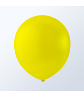 "9"" Creative Brand Crystal Yellow Balloons (144 Per Bag)"
