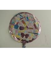 "18"" Make-Up And Diamonds Mylar Balloon"