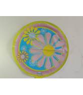 "18"" Pastel Flowers Mylar Balloon"