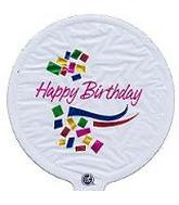 "4"" Airfill Birthday White M295"