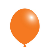 "12"" Party Plus Latex Balloons Tangerine Orange (100 Count)"