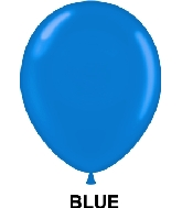"11"" Standard Party Style Latex Balloons (100 CT) Blue latex"