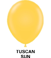 "11"" Fashion Party Style Latex Balloons (100 CT) Tuscan Sun"