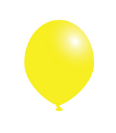 "5"" Party Plus Latex Balloons Lemon Yellow (100 Count)"