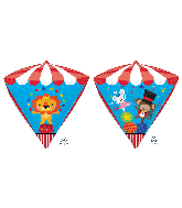"17"" Diamondz Carnival Birthday Foil Balloon"
