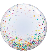 "24"" Deco Confetti Dots Bubble Balloon"